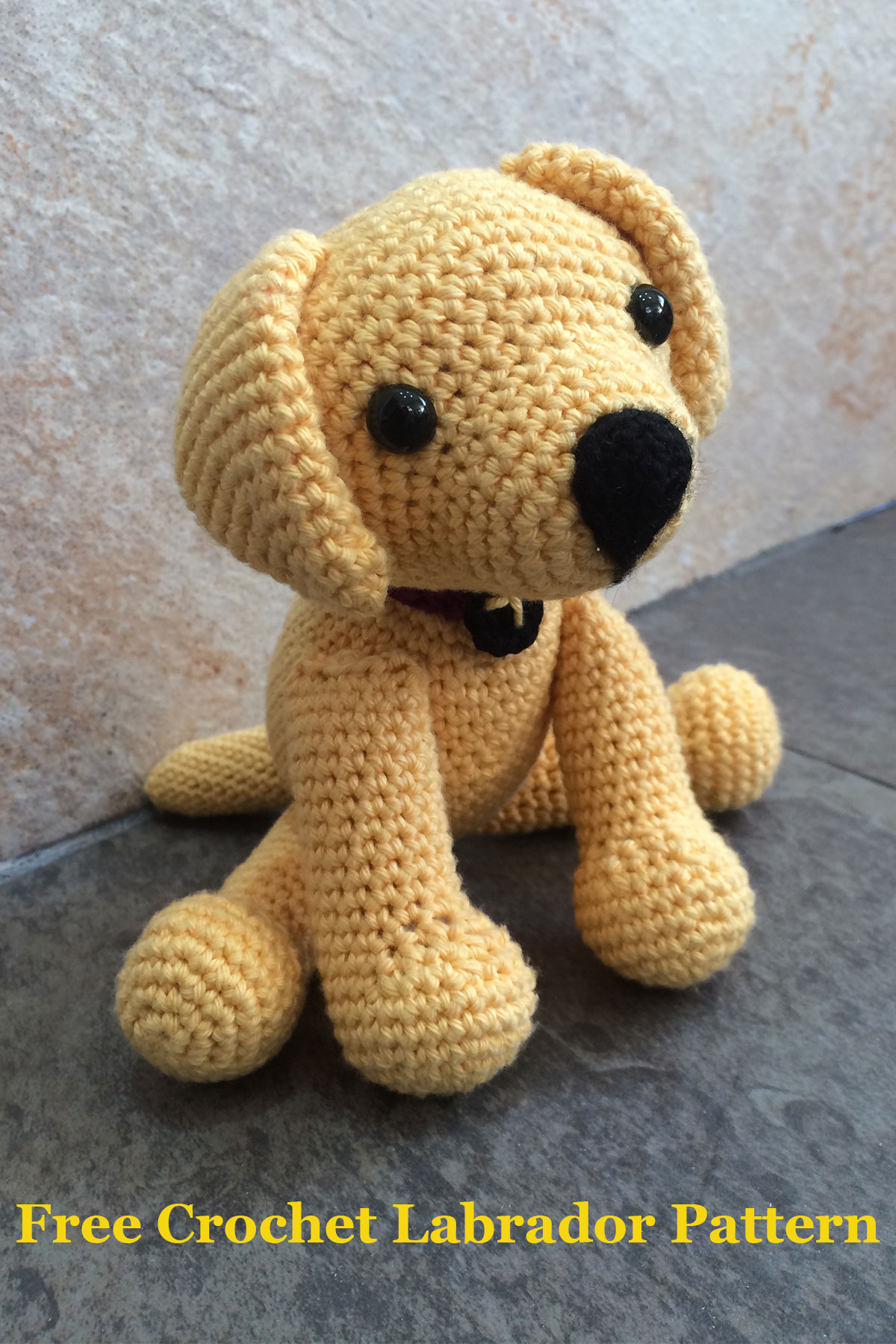 Crochet Dog Toy Pattern