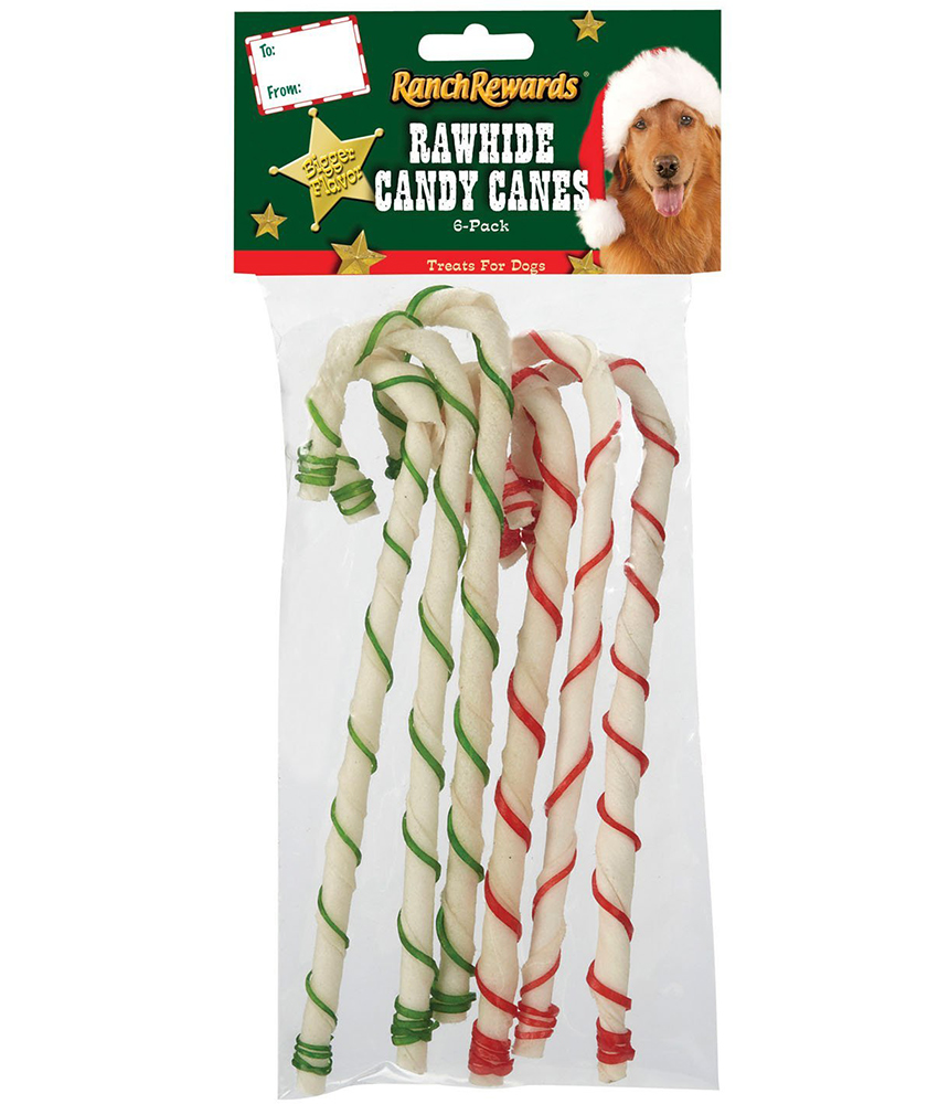 Dog Candy Canes