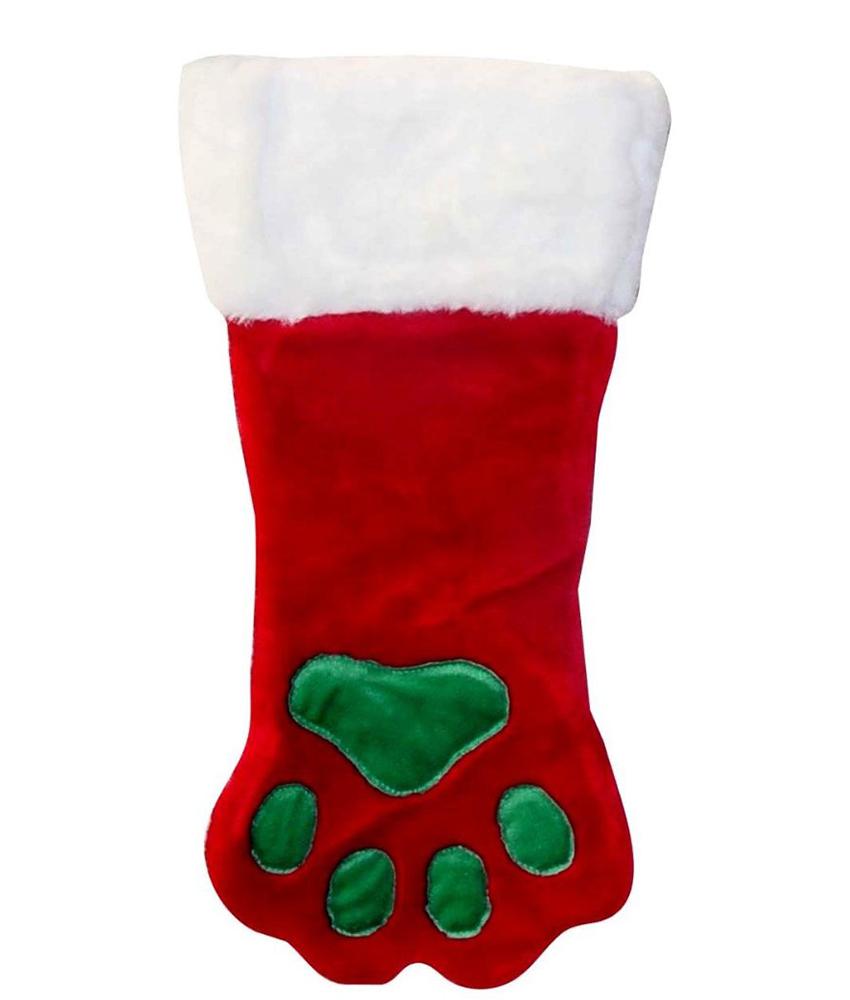 Dog Paw Stocking