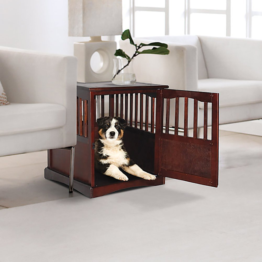 Wooden Pet Crate Table